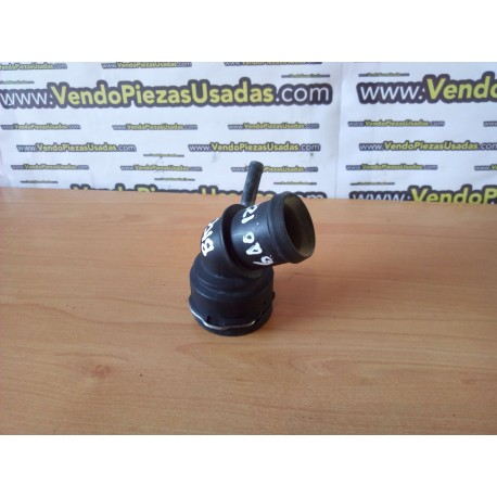 VAG- codo racord pipa agua radiador salida acople 6Q0122291E