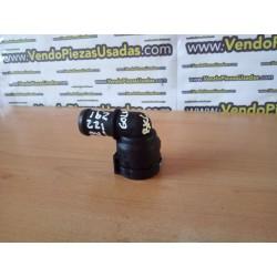 VAG- codo racord pipa agua radiador salida acople 1K0122291H