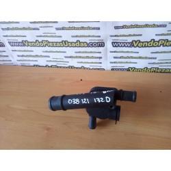 VAG- tubo tapa repartidor refrigerante TERMOSTATO - 038121132D