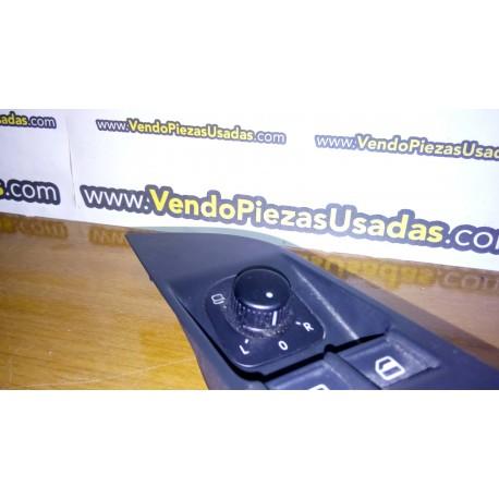 TIGUAN GOLF 5 PASSAT CC EOS JETTA 3 - botón regulador de espejo retrovisor 1K0959565J