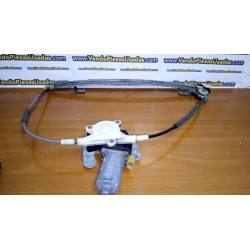 MEGANE 1 5PTAS- elevalunas delantero derecho completo motor y guías 0130821721 084