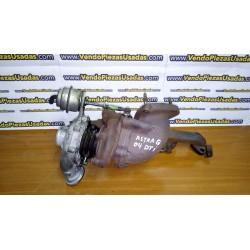 ASTRA G MERIVA ZAFIRA A - Turbo turbocompresor 2000 DTI Y20DTH 24461825 GT15 778867