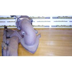 ASTRA G ZAFIRA MERIVA - Colector colectores turbo escape 2000 DTI Y20DTH 90500938