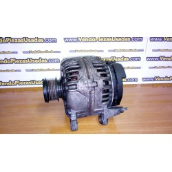 GOLF 5 A3 8P TOURAN ALTEA TOLEDO LEON 2 OCTAVIA CADDY - Alternador 1900 2000 TDI 06F903023F 0124525050
