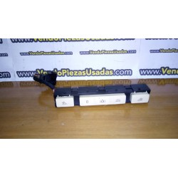 VW TOUAREG - luz de techo botones botonera luz e cortesía 7L6959672