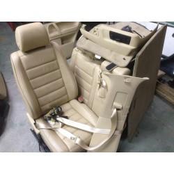 Touareg asientos piel cuero juego completo