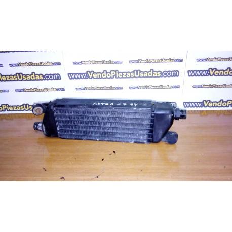 OPEL ASTRA F - GSI - Enfriador aceite motor radiador 90194143 KTM 43039