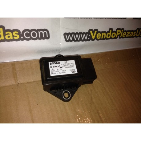 SMART FOR FOUR-MITSUBISHI COLT sensor aceleración transversal ESP ref MR955352--A4545420418--0032508--0265005289