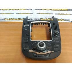 8T0919609F WFY - Consola central MULTIMEDIA MMI NAVI JOSTICK - AUDI A4 B8 8K A5 S5 8T Q5 8R