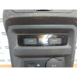 3G0907049D - Módulo climatizador trasero central - TIGUAN TOURAN 5T PASSAT