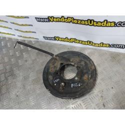 HONDA HRV - 2001 - 1600-16V- TAMBOR BUJE TRASERO PORTA ZAPATAS GASTADAS