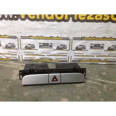 PASSAT-PASSAT CC frente salpicadero tarjetero warning triángulo CROMADO 3C0858407
