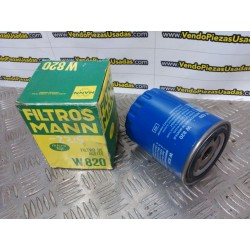 W820 - FILTRO MANN CITROEN C25 CX 1 CX 2