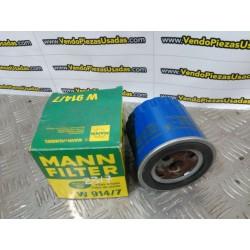 W914 7 W914/7 FILTRO MANN PEUGEOT 505 604