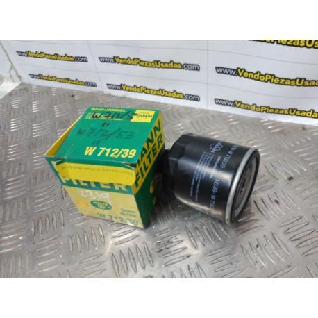 W712 53 W712/53 - FILTRO MANN SEAT IBIZA 2 INCA - VOLKSWAGEN GOLF 3 POLO 3 SKODA FELICIA 1 2
