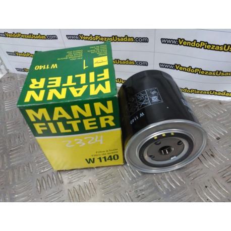 W1140 FILTRO MANN - FIAT
