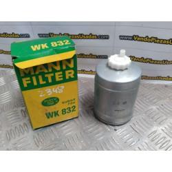 FILTRO DE COMBUSTIBLE MAN WK832 - OPEL