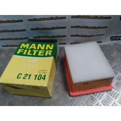 FILTRO DE AIRE MAN C21 104 -- CITROEN PEUGEOT -