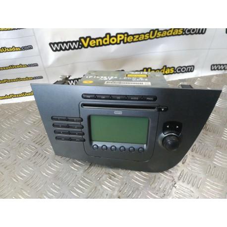 1P1035186N87 - RADIO CD SEAT LEON 2 2006