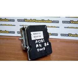 A4 B6-B7- módulo de ABS 8E0910517D - 8E0614517AK